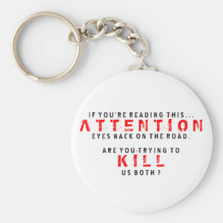 If You Can Read This...Kill Us Both Key Chain