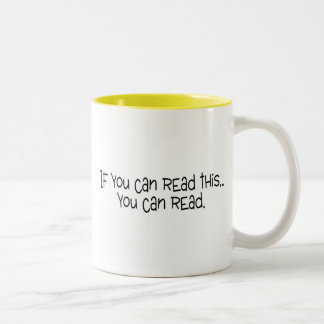 If You Can Read This You Can Read Coffee Mugs