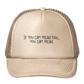 If You Can Read This You Can Read Trucker Hat