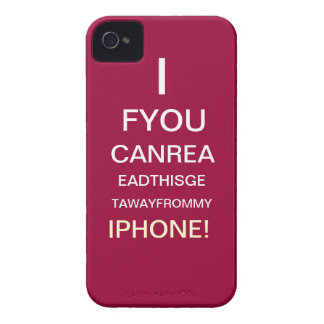 If you can see this... Case-Mate iPhone 4 cases