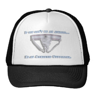 If you can't be an athlete... cap