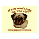 If You Don't Help Me, Who Will? Post Cards