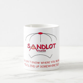 IF YOU DON'T KNOW WHERE YOU'RE GOING MUG