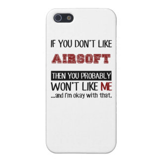 If You Don't Like Airsoft Cool Cover For iPhone 5/5S