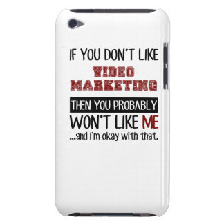 If You Don't Like Video Marketing Cool iPod Case-Mate Case