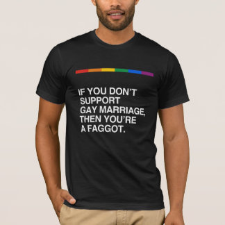 IF YOU DON'T SUPPORT GAY MARRIAGE T-Shirt
