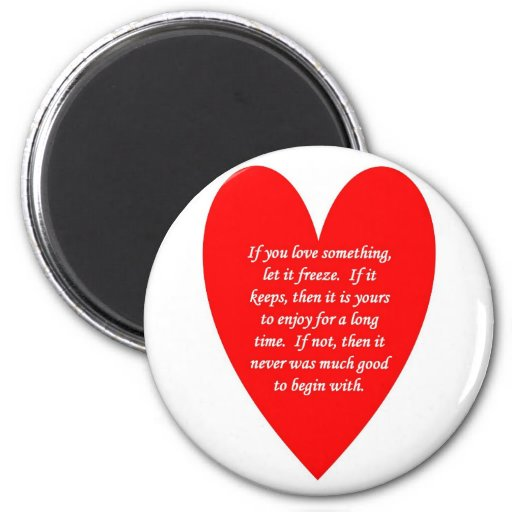 if-you-love-something-let-it-freeze refrigerator magnets