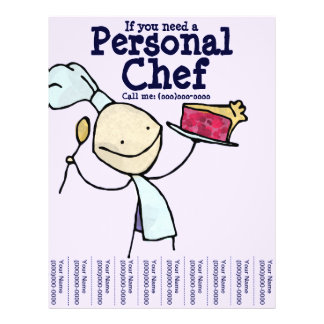 If you need a Personal Chef Flyer