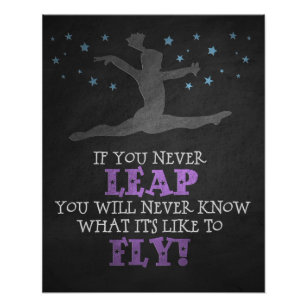 Gymnast Quotes | Gymnast Quote Gifts Gift Ideas Zazzle Uk