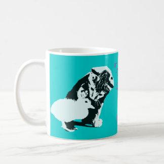 if you re a bird I m a bird cute Mugs