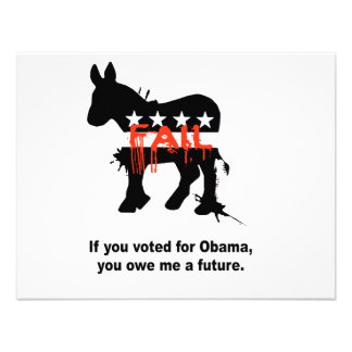If you voted for Obama you owe me a future Personalized Invite