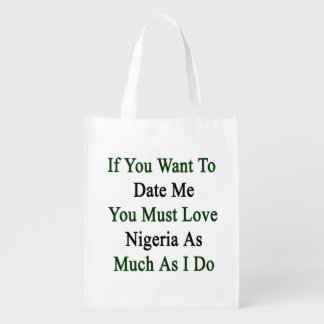 If You Want To Date Me You Must Love Nigeria As Mu