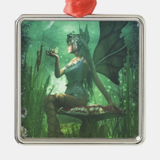 If you want to meet a handsome prince... christmas ornament