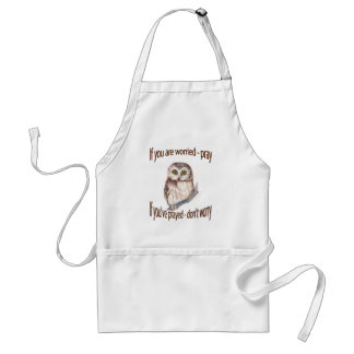 If Your Worried Pray, If you've Prayed Don't Worry Standard Apron
