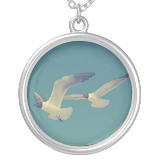 If You're A Bird, Then I'm A Bird Silver Plated Necklace