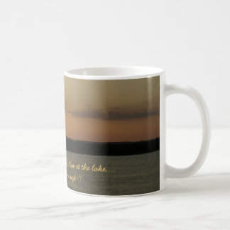 If you're lucky enough to live at the... basic white mug