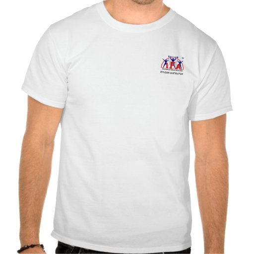 IFA Fitness Instructor Logo Front & Back Tee Shirt