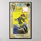 Ifdawn Deepdream Tarot Key 0 ~ The Fool Poster