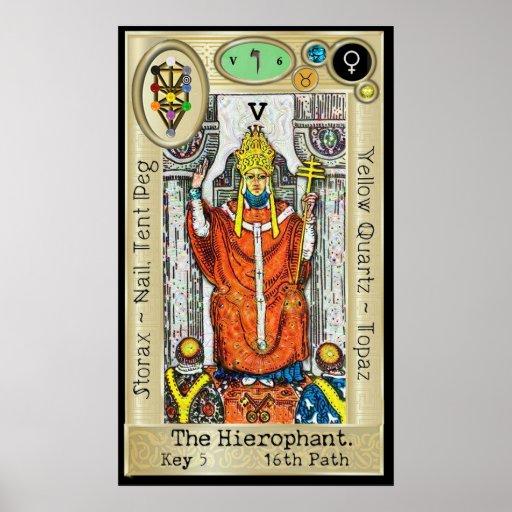 Ifdawn Deepdream Tarot Key 5 ~ The Hierophant