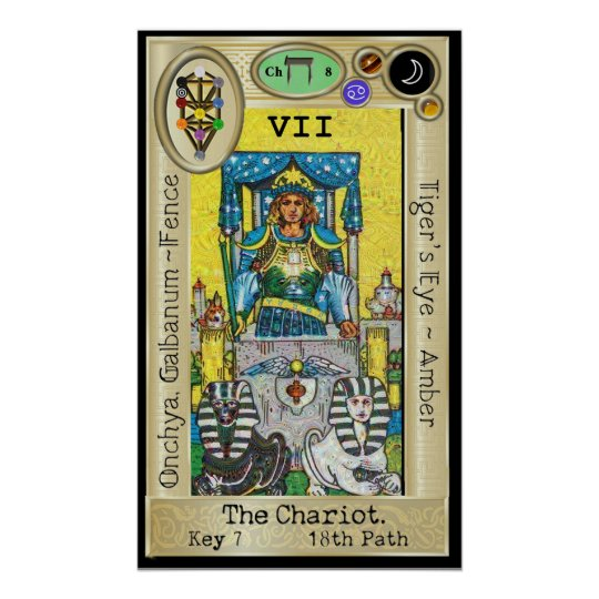 Ifdawn Deepdream Tarot Key 7 ~ The Chariot