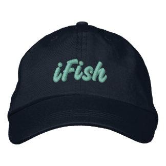 iFish in Lake Tahoe, Sierra Nevada Mountains Baseball Cap