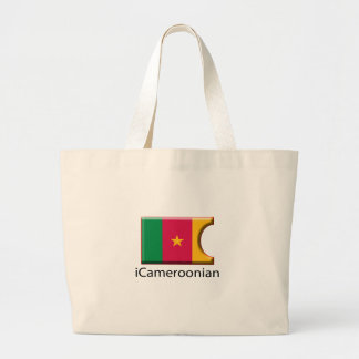 iFlag Cameroon Jumbo Tote Bag