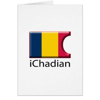 iFlag Chad Greeting Card