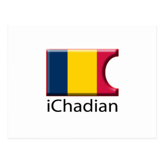 iFlag Chad Postcard