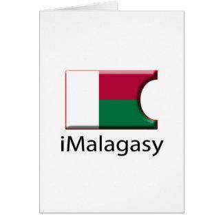 iFlag Madagascar Greeting Card