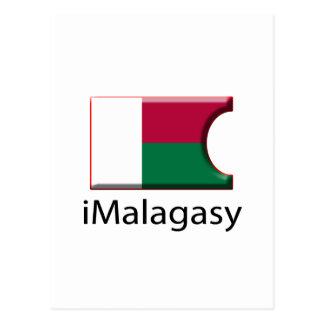 iFlag Madagascar Postcard
