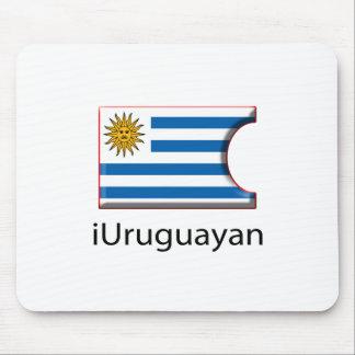 iFlag Uruguay Mouse Pad