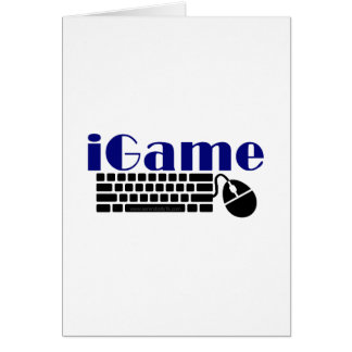 iGame Greeting Card