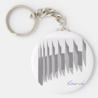 iGarnish_9_9 Basic Round Button Key Ring