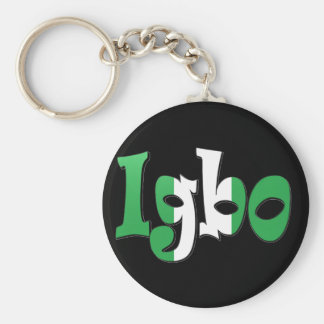Igbo (Nigerian Flag) Key Ring
