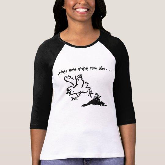 Igbo Proverb on T shirt - Ochuu Nwa okuko nwe ada.