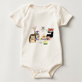 iGetcha.org Chicken & Friends Baby Bodysuit
