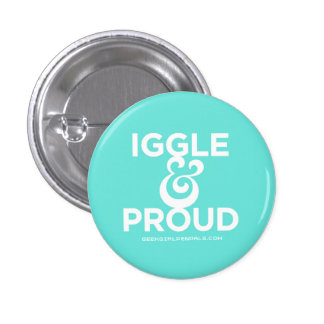 Iggle and Proud Pin