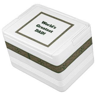 Igloo 12 Can Cooler - Celtic Knot Design Igloo Cool Box