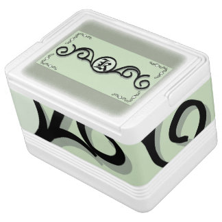 Igloo 12 Can Cooler IRONWORK SCROLLWORK 1 Igloo Cool Box