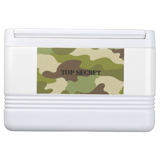 Igloo Can Cooler camouglafe military top secret Igloo