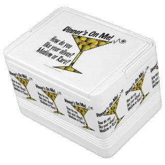IGLOO COOLERS Dinner! Olives? Medium or Rare? Igloo Cool Box
