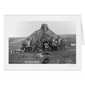 Igloo Eskimo Family 1906 Cards