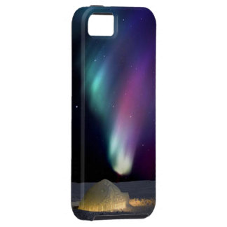 Igloo under Northern Aurora - iPhone 5/5S, Vibe iPhone 5 Cases