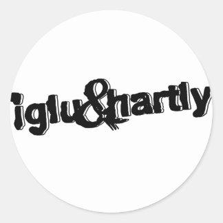 Iglu & Hartly Logo Classic Round Sticker