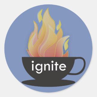 Ignite: The Blue Sticker