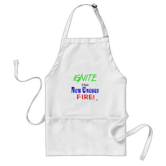 Ignite the New Energy Fire Standard Apron