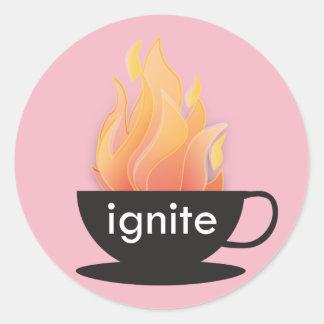 Ignite: The Pink Sticker