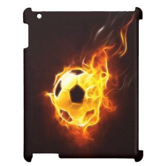 Ignited Soccer Ball iPad Cover