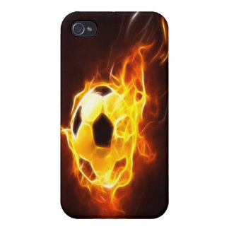 Ignited Soccer Ball  iPhone 4/4S Case