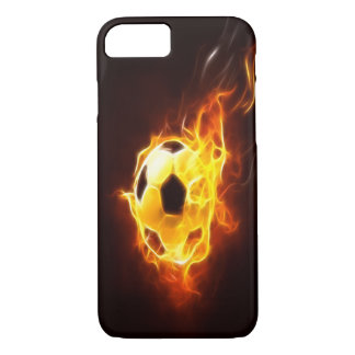 Ignited Soccer Ball iPhone 7 case